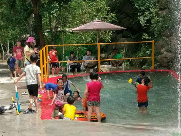 2017加碼推出 兒童戲水區